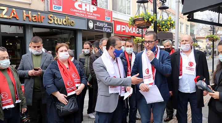 Yalova'da bir grup CHP'li, parti üyeliğinden istifa etti