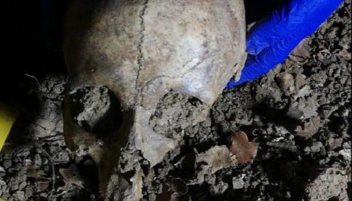 Yer: Samsun! Yol çalışması sırasında insan kemikleri bulundu