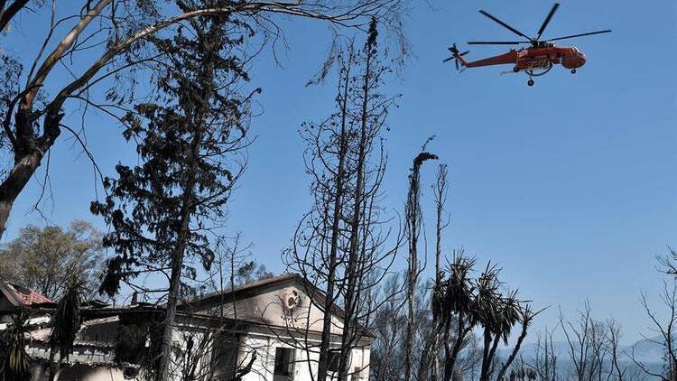 Yunanistanda orman yangını paniği! 110 çocuk tahliye edildi…