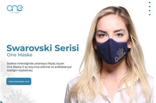 Yüzde 100 Organik Pamuk Kumaştan Yıkanabilir Koruyucu Yüz Maskesi One Maske