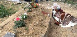 Yaşadığı acıya dayanamayan genç, bir gün önce hayatını kaybeden annesinin mezarı başında intihar etti