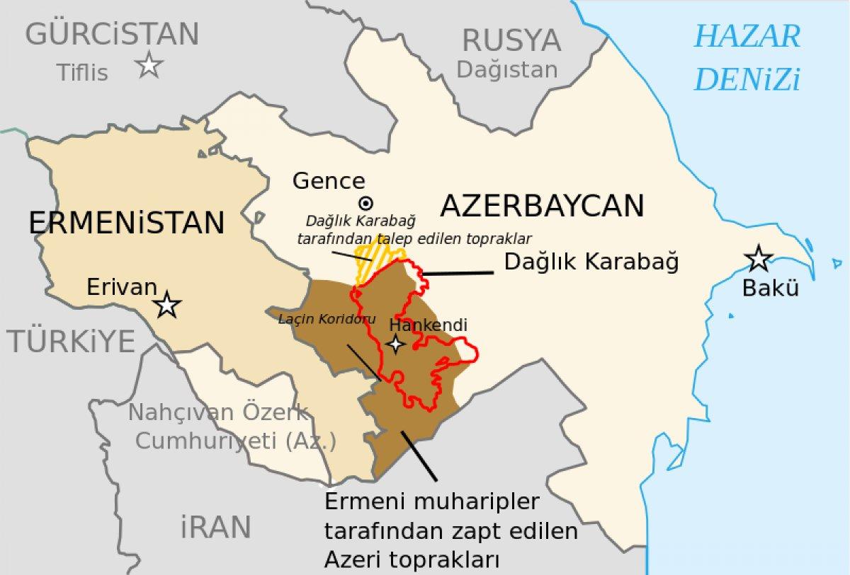 Şuşa nerede? Azerbaycan için Şuşa neden önemli? Şuşa nın haritadaki yeri #3