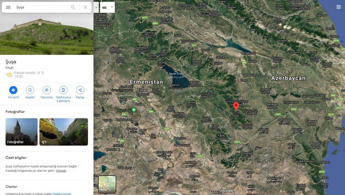 Şuşa nerede? Azerbaycan için Şuşa neden önemli? Şuşa nın haritadaki yeri #1