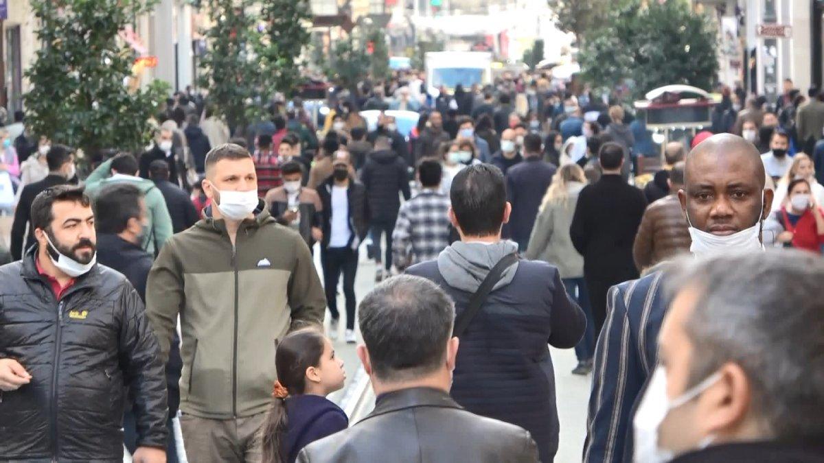 Taksim'de korkutan kalabalık #3