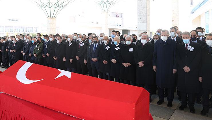 11 kahraman şehidimize Ankarada devlet töreni düzenlendi