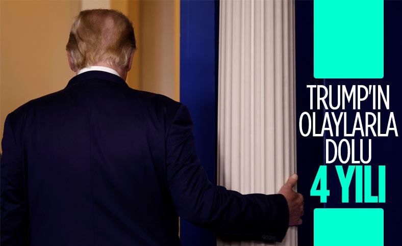ABD'nin 45. Başkanı Donald Trump'ın fırtınalı geçen 4 yılı