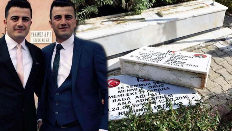 Adanada şehit mezarlarına zarar veren 5 kişi tutuklandı