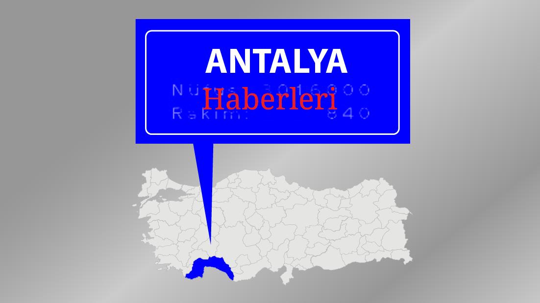 Antalya'da sağanağın zararı büyük