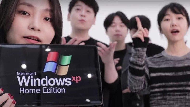 Bir Müzik Grubu, Orijinalinden Neredeyse Farksız Şekilde Windows Seslerini Taklit Etti