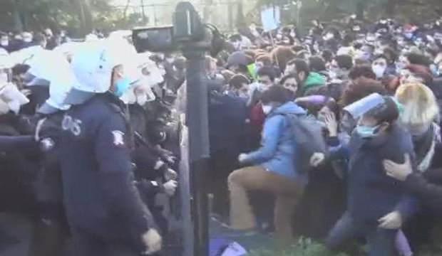 Boğaziçi Üniversitesi öğrencilerinden provokasyon isyanı!