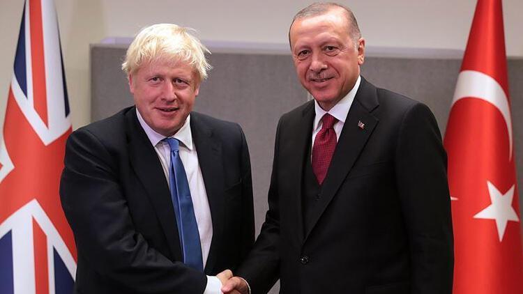 Cumhurbaşkanı Erdoğandan Boris Johnson ile kritik görüşme!