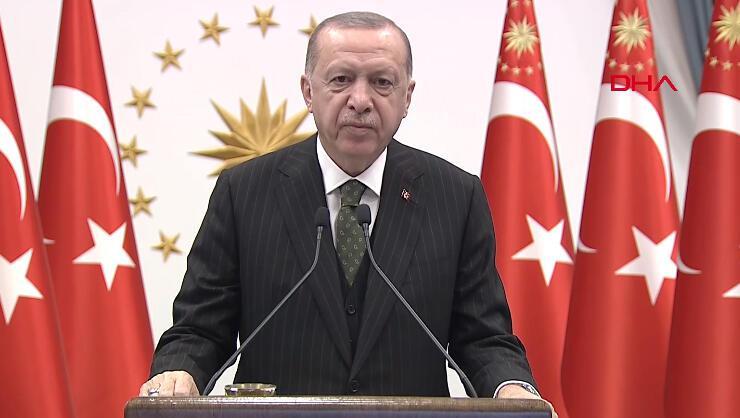 Erdoğandan ABDnin yaptırım kararına tepki: İlk kez bir NATO...