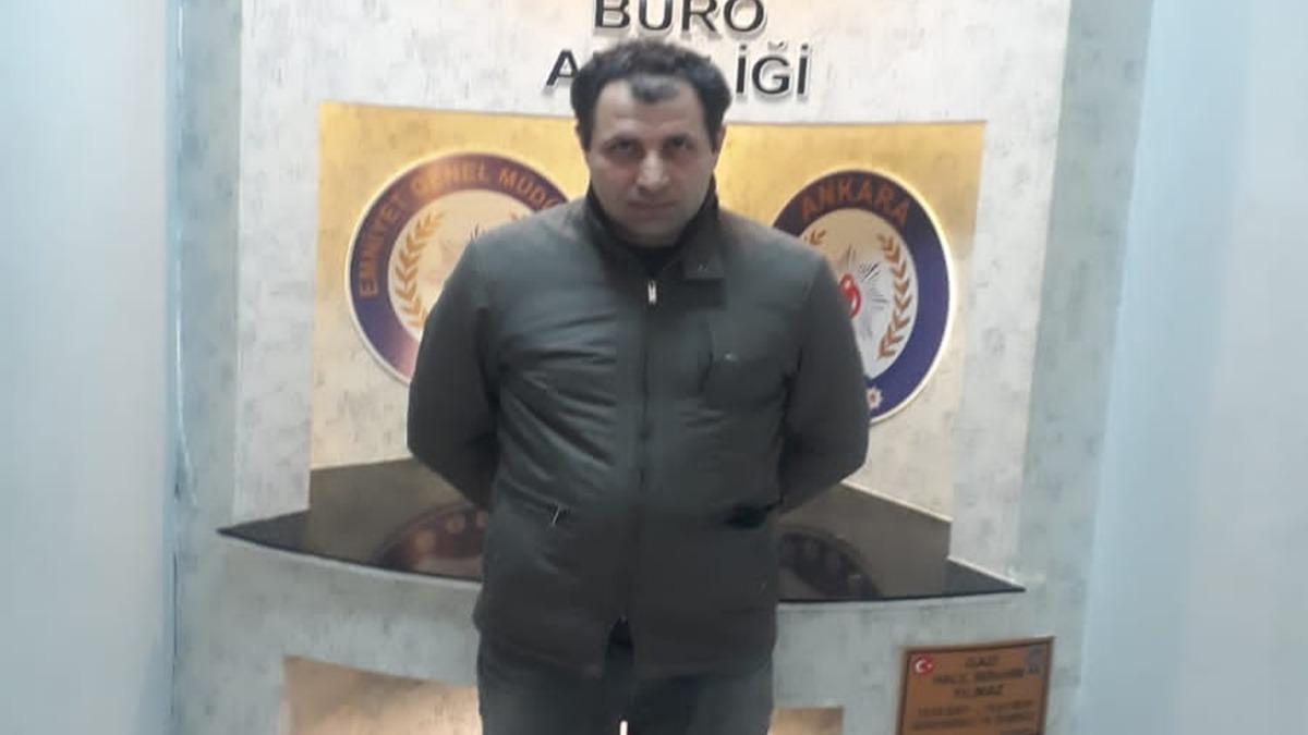 FETÖ üyesi eski binbaşı kıskıvrak yakalandı