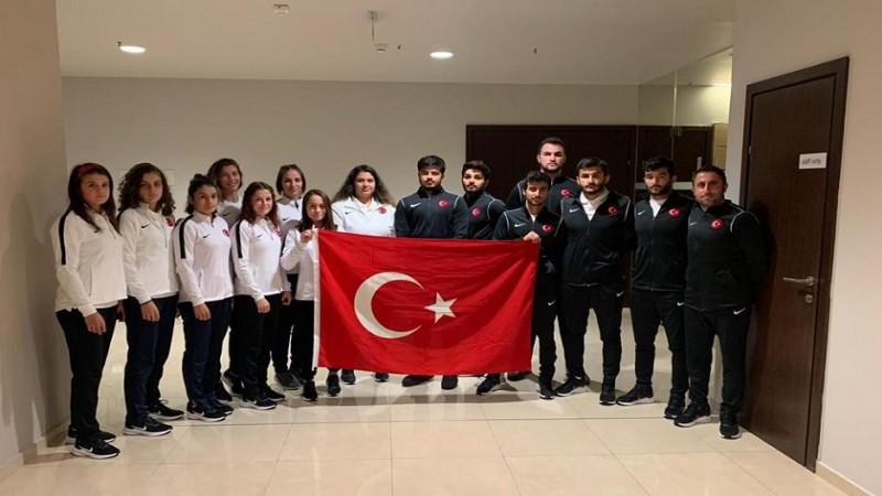 Genç Milli Judocularımız 'ATA'mızı andı