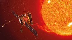 Güneş'e olan yolculuğuna devam eden Solar Orbiter, Venüs'ün yanından ilk geçişini yaptı