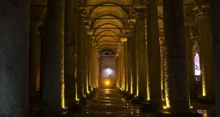 İBB: Zaman, Yerebatan Sarnıcı'nın aleyhine işliyor