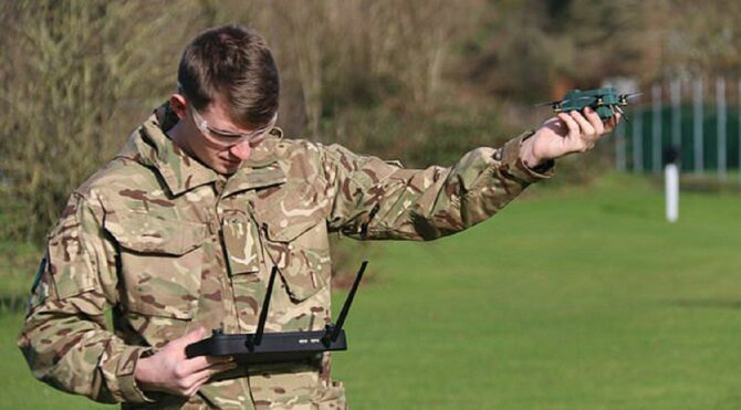 İngiliz ordusu 'otonom ve küçük' drone testlerine başladı