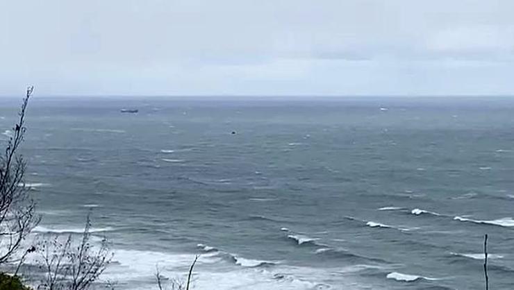 İnkumu açıklarında Rus gemisi battı: 4 kişi hayatını kaybetti