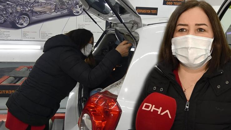 İnternetten beğenip otomobil alan kadının, çıkan beyaz dumanla...