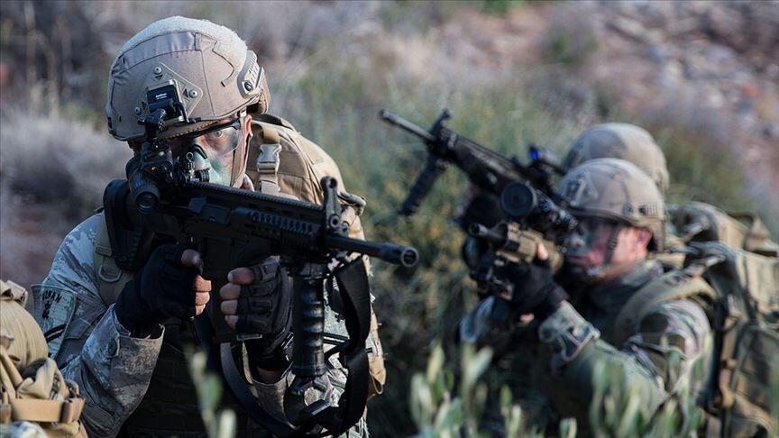 Irak'ın kuzeyinde 2 terörist daha etkisiz hale getirildi