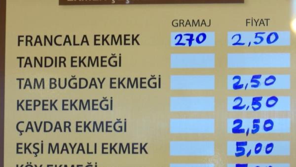 İstanbul'da 5 ilçede 2,5 liralık ekmek tartışması