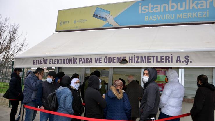 İstanbulkart için HES kodu eşleştirme kuyruğu oluştu