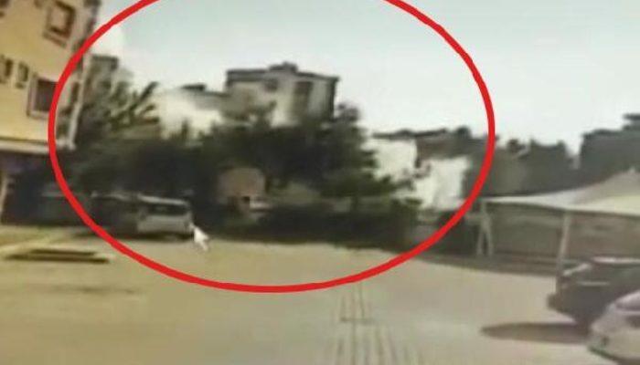 İzmir'deki depremde Yağcıoğlu Apartmanı'nın yıkılma anına ilişkin görüntüler ortaya çıktı