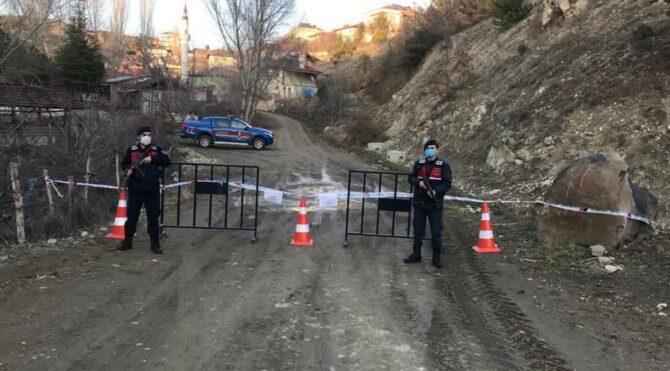 Kastamonu'da vakaların arttığı köy, karantinaya alındı