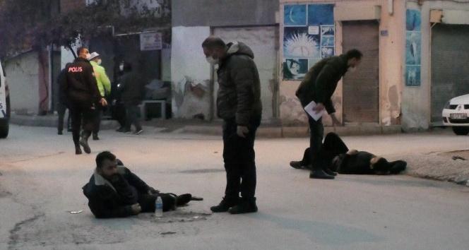 Konya'da sokak ortasında silahlı kavga: 2 yaralı