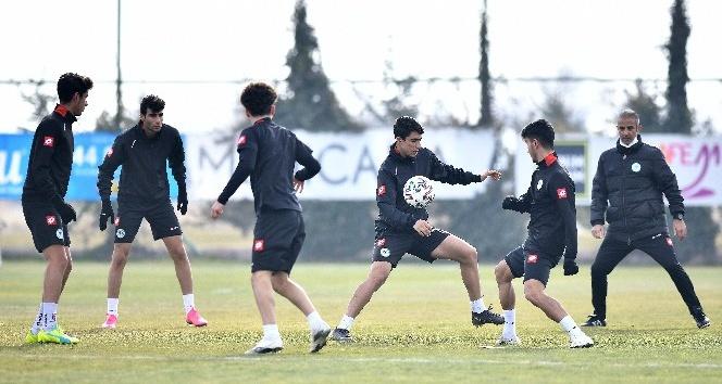 Konyaspor, Galatasaray maçı hazırlıklarına başladı