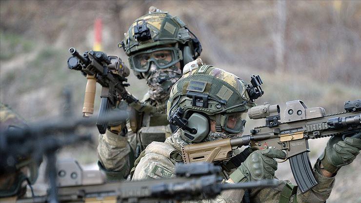 MSB duyurdu: Irakın kuzeyinde 5 PKKlı etkisiz hale getirildi