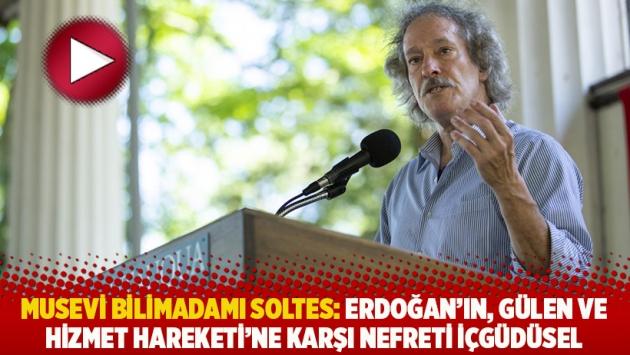 Musevi bilimadamı Soltes: Erdoğan'ın, Gülen ve Hizmet Hareketi'ne karşı nefreti içgüdüsel