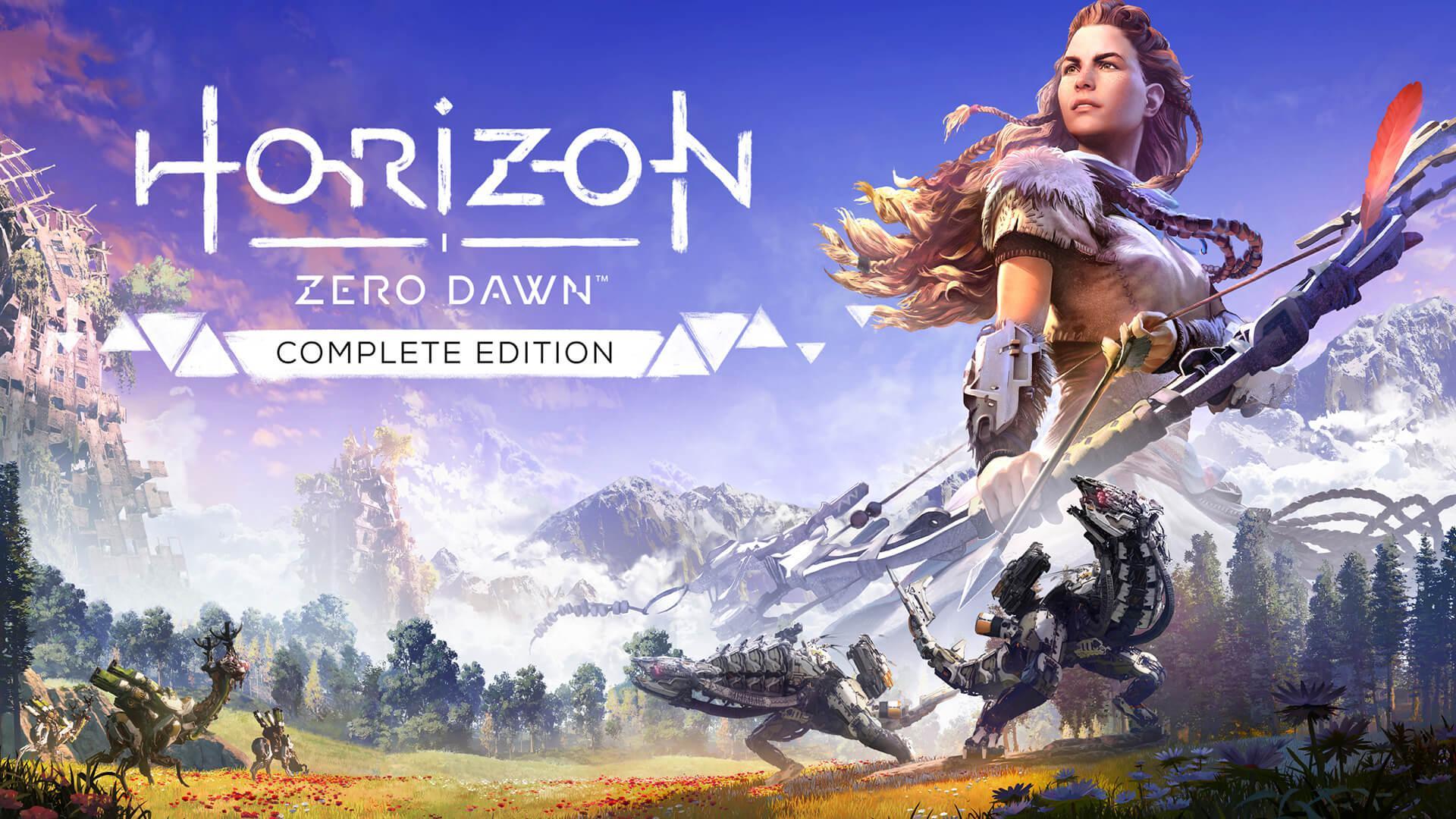 PlayStation kullanıcıları için Horizon Zero Dawn Complete Edition...
