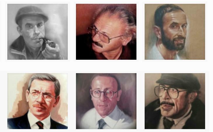 Profesyonel Karakalem Portre Çizimi