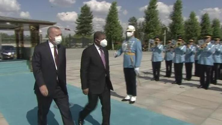 SON DAKİKA: Angola Cumhurbaşkanı Ankarada