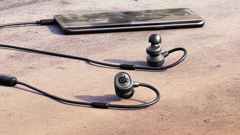 SteelSeries, Mobil Oyunculara Özel Kablolu Kulaklığı 'Tusq'u Duyurdu