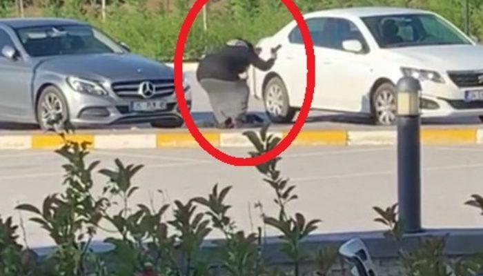 Tartıştığı adama dehşeti yaşattı! Tabancayla yaraladı, yerde yatarken vurmaya devam etti