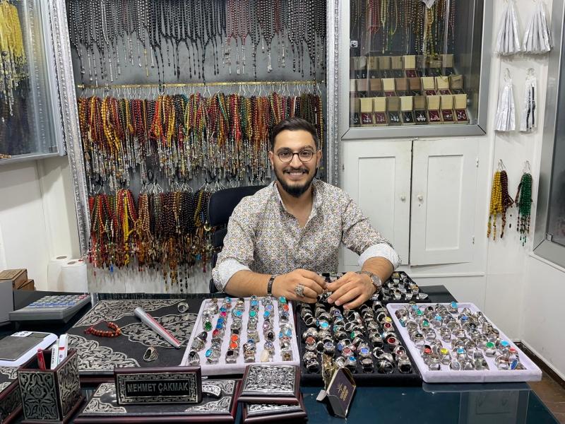 Türk yüzük ustası Mehmet Çakmak, ABD'deki patent avcılarına çalım atarak,