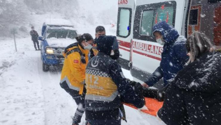 Zonguldak-İstanbul yolunda yolcu otobüsü devrildi